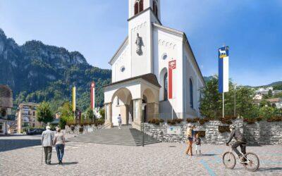 Umgestaltung Kirchenareal